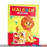 """Malbuch """"Wildtiere"""" inkl. Spielfiguren"""
