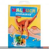 """Malbuch """"Dinosaurier"""" inkl. Spielfiguren"""