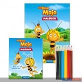 """Malbuch-Set """"Die Biene Maja"""""""