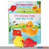 """Badebuch """"Die kl. Ente & der Fisch"""" inkl. 2 Tierfiguren"""