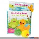"""Badebuch """"Die kl. Ente & der Frosch"""" inkl. 2 Tierfiguren"""