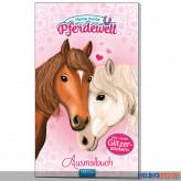 """Ausmalbuch """"Meine bunte Pferdewelt"""" m. Glitzerstickern"""