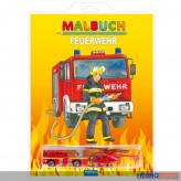 """Malbuch """"Feuerwehr"""" inkl. 2 Fahrzeuge"""