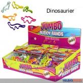"""Silikonarmband """"Buddy Bands Jumbo - Dinosaurier"""" 6-sort."""