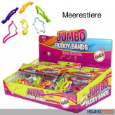 "Silikonarmband ""Buddy Bands Jumbo - Meerestiere"" 6-sort."