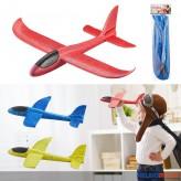 """Styropor-Gleitflugzeug """"Styropor-Flugzeug"""" sort."""