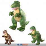 """Plüsch-Dinosaurier """"Rex"""" stehend - 35 cm - sort."""