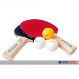 """Tischtennis-Set """"Applegren-Line - 2 Schläger+3 Bälle"""""""