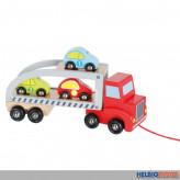 "Holz-Auto-Transporter ""Autotransporter"" - 5-tlg."