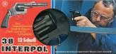 """Spielzeug-Pistole """"Interpol 38"""" - 12er Schuss"""