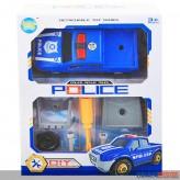 """Polizei-Auto zum Schrauben """"Police Pickup Truck"""" - DIY"""