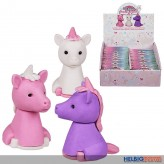 "Puzzle-Radierer 3er Set ""Einhorn/Unicorn"" - 3-sort."