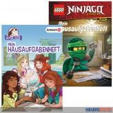 """Lego® & Schleich® """"Mein Hausaufgabenheft"""" 2-sort."""