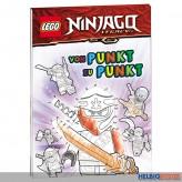 """Mal-Heft """"Lego® Ninjago Legacy: Von Punkt zu Punkt"""""""