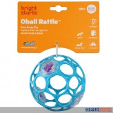 "Oball ""Rattle/Rassel"" 10 cm - sort."