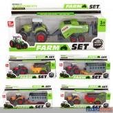 "Traktor-Set ""Landwirtschaft - Farm Set"" 6-sort."