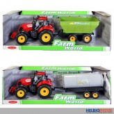 "Farm-Traktor-Set ""Farm World"" - 4-sort."