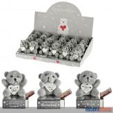 """Geschenk-Box m. Plüschfigur """"Teddy-Bär"""""""