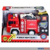 """Feuerwehr-Auto """"Firefighter"""" mit Licht & Sound - 3-sort."""