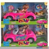"""Puppen-Spielset """"Auto"""" 30 cm - 2-sort."""