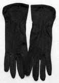Handschuhe aus Baumwolle - schwarz
