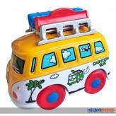 "Metall- Fahrzeuge ""Reisebus/Travel Bus"" m. Bewegungsfunktion"