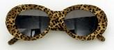 Brille - Leoparden-Dekor