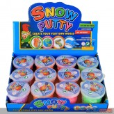 "Schaum-Knete ""Snow Putty"" - 4-sort."