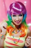 """Perücke """"Candy"""" - multicolor"""