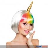 "Perücke ""Einhorn / Unicorn Rainbow"""