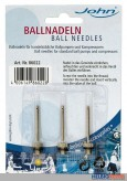 Ballnadeln aus Metall - 3er Set