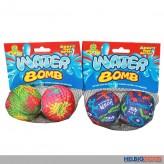 2er Soft-Wasserbomben/ Wasserbombenball - sort.