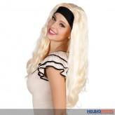 """Perücke """"Jackie"""" m. Stirnband - blond"""