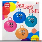 "Hüpf-Ball ""Skippy Ball Funny Face"" 45 cm - sort."
