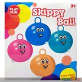 "Hüpf-Ball ""Skippy Ball Funny Face"" 50 cm - sort."