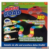 "Fluoreszierendes Auto-Set ""Magic Road"" gr. - 180-tlg."