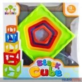 """Spiel- & Stapelwürfel """"Baby Stack Cube"""""""