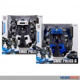 "Transformer-Roboter ""Swat Police-G"" 2-sort."
