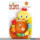 """Bright Starts - Baby-Beißkette """"Twist & Teethe"""""""