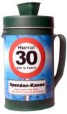 """Spendenkasse/Spardose """"30 Jahre"""""""