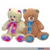 Plüsch Teddybär mit Schal gr. - sort.