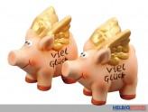 """Glücks-Schweinchen """"Viel Glück"""""""