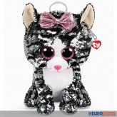 "Ty Fashion - Pailletten-Rucksack 33 cm - Katze ""Kiki"""