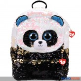 "Ty Fashion - Pailletten-Rucksack 33 cm - Panda-Bär ""Bamboo"""