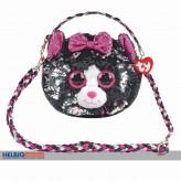 "Ty Fashion - Pailetten-Schultertasche 23 cm - Katze ""Kiki"""