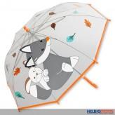 """Kinder-Regenschirm """"Waldis - Fuchs Filou"""""""