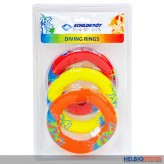 "Tauchringe-Set ""Neopren"" 3-tlg./Diving Rings ""Neoprene"""
