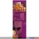 """Flaschentüte """"Wein & Champagner"""" - sortiert"""