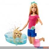 """Barbie - Puppen-Spielset """"Hundebad"""""""