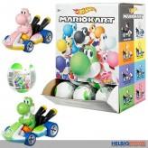 "Hot Wheels ""Mariokart - Yoshi-Überraschungs-Ei"" sort."
